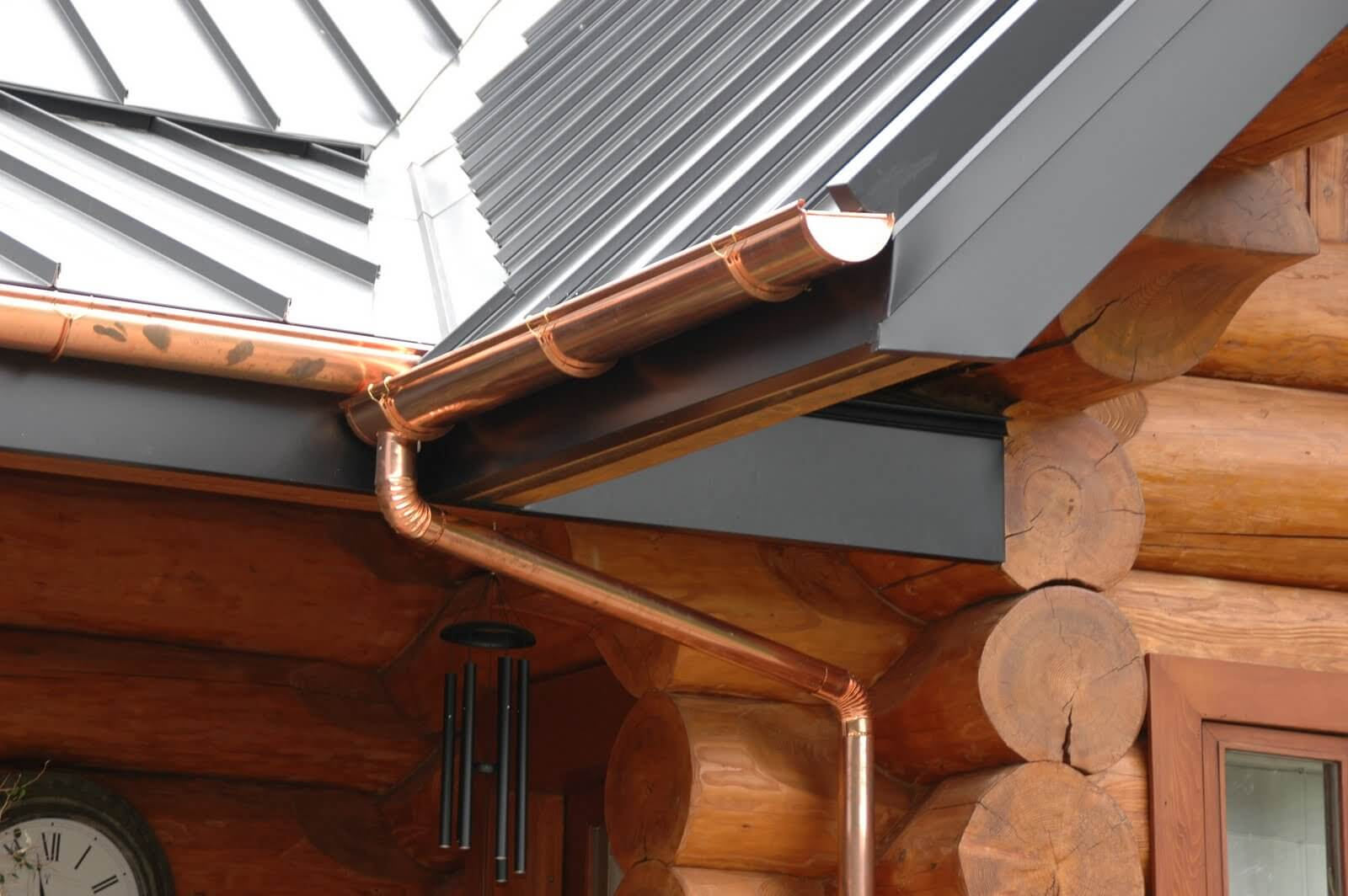 Copper Drain System